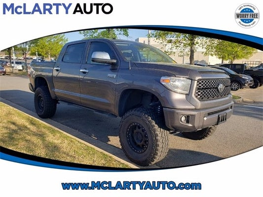 Toyota Little Rock >> 2019 Toyota Tundra Platinum